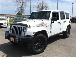 2016 Jeep WRANGLER UNLIMITED SAHARA**BACK COUNTRY**NAVIGATION**B