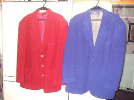 2 x mens wool jackets