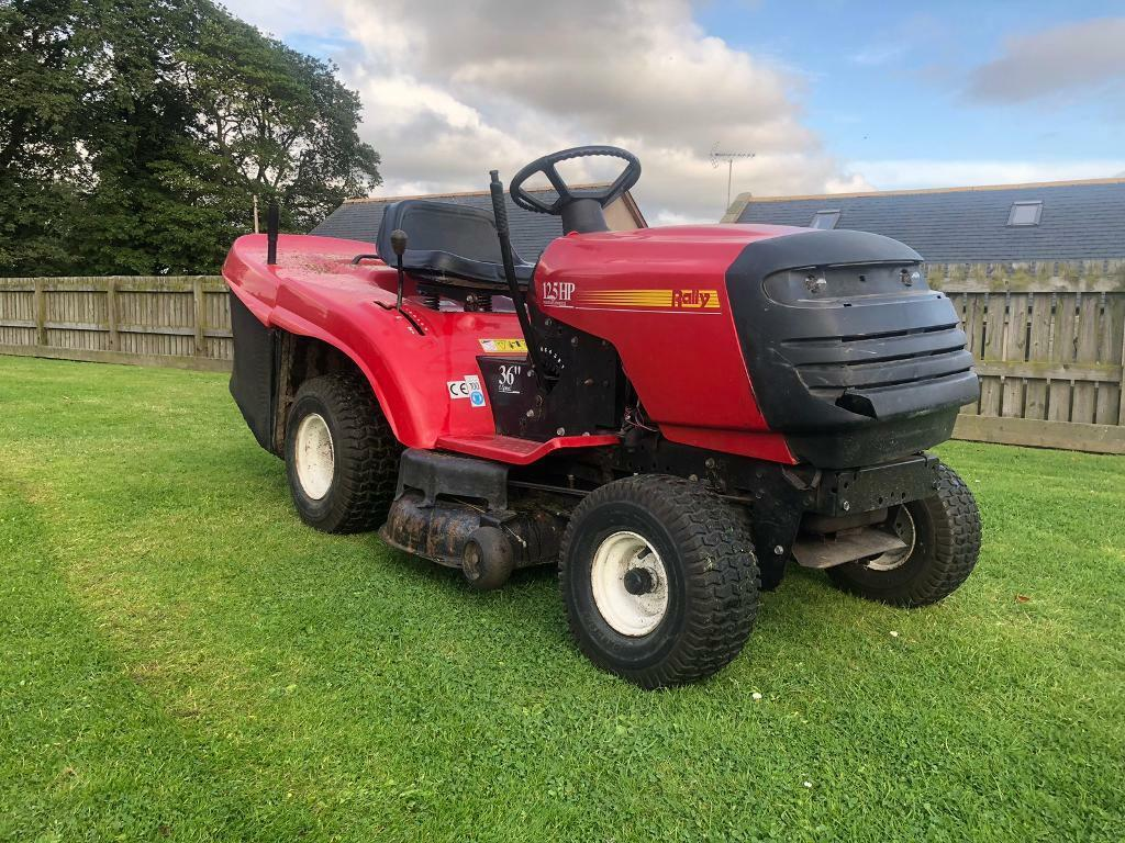 Rally Husqvarna Ride on lawnmower compact tractor lawn mower  | in  Oldmeldrum, Aberdeenshire | Gumtree