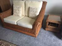6 piece conservatory furniture with changeable cushions