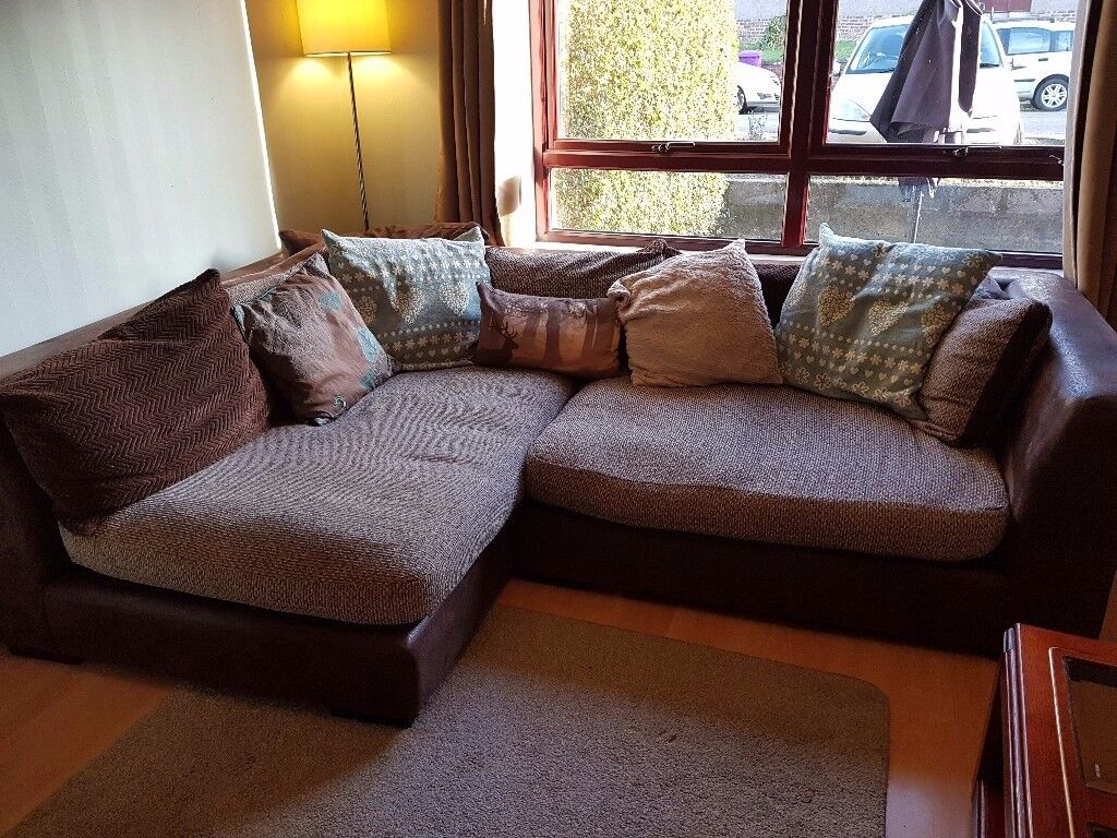 DFS Corner Sofa & Cuddle Chair