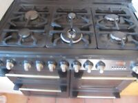 Dual fuel cooker 1000 Black Cannon