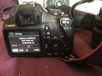 Canon EOS 1100D with Lens and box