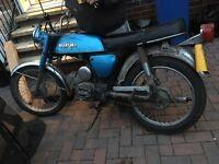 Classic Suzuki a100