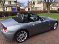 BMW Z4 2.0l sport, 56 reg, full MOT, private number plate, 92k miles