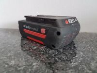 BOSCH 36v Li-ion 1.3ah battery