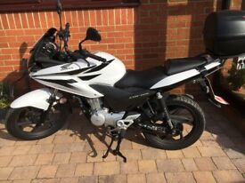 Honda 125 CBF 2011 ( with Backbox ) full MOT excellent condition, only done 7436 miles.