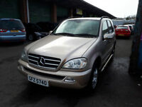 Mercedes ML320 Automatic Petrol