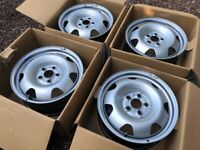 "Genuine 17"" VW Transporter T6 Steel Wheels Set of Four Spare Great Condition Singles Available"