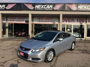 2012 Honda Civic EX-L C0UPE AUT0 LEATHER NAVI SUNROOF 39K