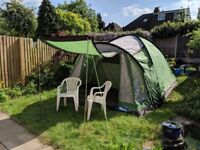 Kampa Caister 5 dome tent, ideal for festivals and short breaks. Good condition.