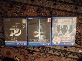 Ps4 games - Tom clancy the division / dishonoured 2 / gran turismo sport.