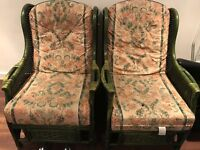 Good condition and comfy armchairs X2