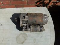 Jaguar XJ6 starter motor, second hand but in good position, this if for a 1974 model