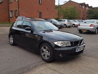 BMW 1series black 2006