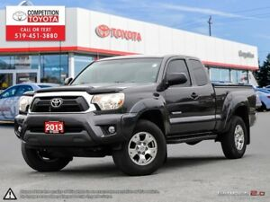2013 Toyota Tacoma One Owner, Toyota Serviced