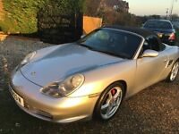 porsche boxster 3.2s 986 11 stamp full porsche history,showroom condition best in the uk! px
