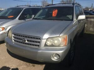 2002 Toyota Highlander CALL 519 485 6050 CERT AND E TESTED