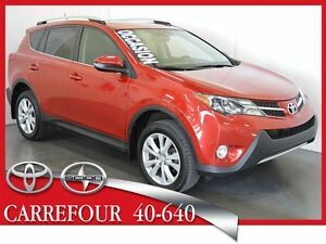 2013 Toyota RAV4 4WD Limited Cuir+Toit Ouvrant+Bluetooth+Camera