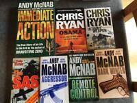 Chris Ryan / Andy McNab Books For Sale