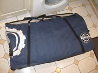 Bike Bag with wheel bags - excellent condition - only used once!