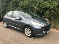 Peugeot 207 1.6 Auto *HPI Clear - Cheap Bargain Trade Sale to Clear 2007 5 Door Hatchback