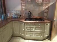 Kitchen units - solid wood