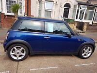 Mini cooper 1.6 auto blue bargain 52k mileage quicksale £1500ono