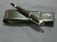 Mont Blanc Pen & Leather Pen Case