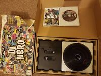 Wii DJ Hero + Game