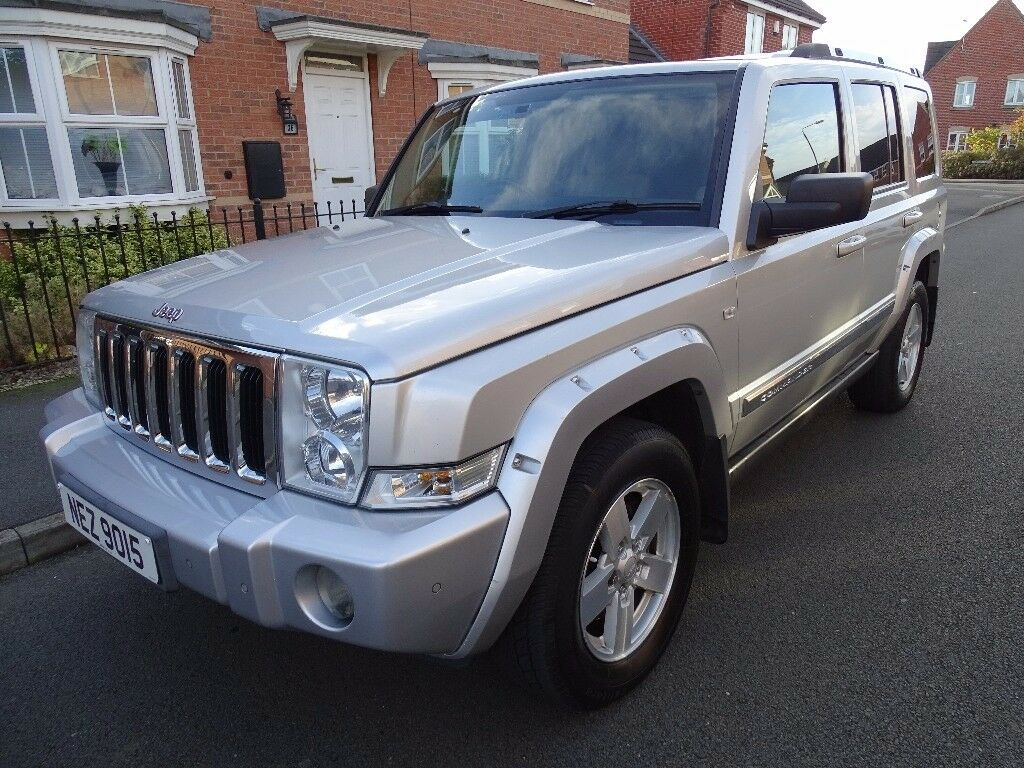 2007 jeep commander 3 0 crd v6 limited 4x4 5dr 4wd diesel. Black Bedroom Furniture Sets. Home Design Ideas