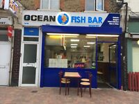 Fish and chips + Kebab in se12 8lp. 80 thousand!!