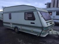 Compass omega 4 berth lightweight with awning swift elddis abi caravan Can Deliver January Bargain