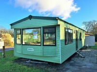 **COSALT RIVERDALE HOLIDAY HOME £19,995. SITED ON QUIET COUNTRY HOLIDAY PARK. 12M SEASON**