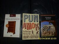 2 DIY DVD's & a puzzle book from Amazon