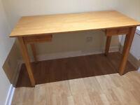 M & S Wooden Desk