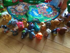 Fisher price alphabet zoo with complete a-z animals