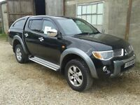 Mitsubishi L200 Elegance 2006 (with loads of extras)
