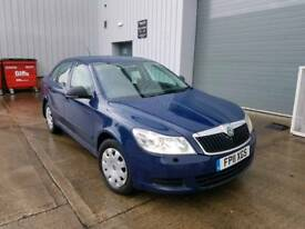2011 SKODA OCTAVIA 1.6 TDI CR S MANUAL 5 DOOR HATCHBACK BLUE NEW SHAPE LONG MOT MAY PX