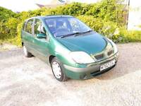 Renault Scenic 1.6 Alise - 11 month MOT. Reduced for quick sale.