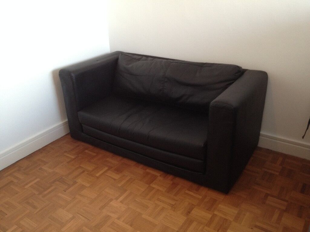 Black Ikea Askeby Two Seat Sofa Bed