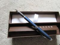 Cross Roller Ball Starlight Midnight Blue Pen