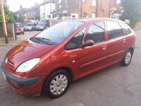 1.6 CITREON PICASSO 2008 YEAR MANUAL PETROL 94000 MILES MOT 16/03/2019 HISTORY 3 MONTHS WARRANTY
