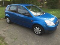 Blue Ford Fiesta 2003 for sale