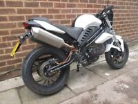 WK White Knuckle ZS 125cc 2017 With Mot Sport Tourer