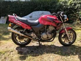 Honda cb500 1999 low mileage