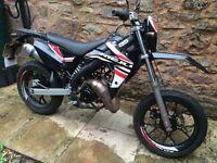 Motor bike for sale - geared - 50 cc
