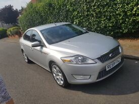 FORD MONDEO 2009/59 TITANIUM X 2.0 DIESEL SILVER MANUAL A/C FULL HISTORY