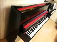 Fazer black upright piano