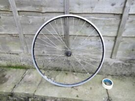 700c road bike wheel with hub for 7 8 9 10 speed shimano good for turbo trainer